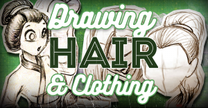 how-to-draw-hair-and-clothing-pencil-kings