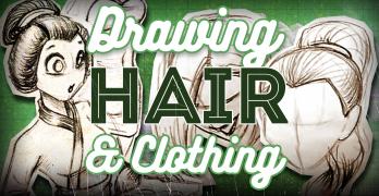 Drawing Hair and Clothing