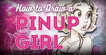Draw a Sailor Pinup Girl