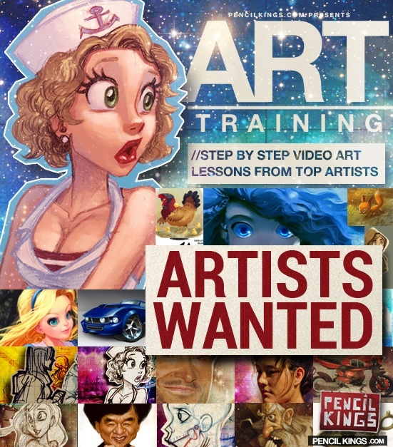 pencil kings artists wanted ad