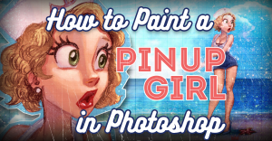 how-to-paint-pinup-girl-pencilkings