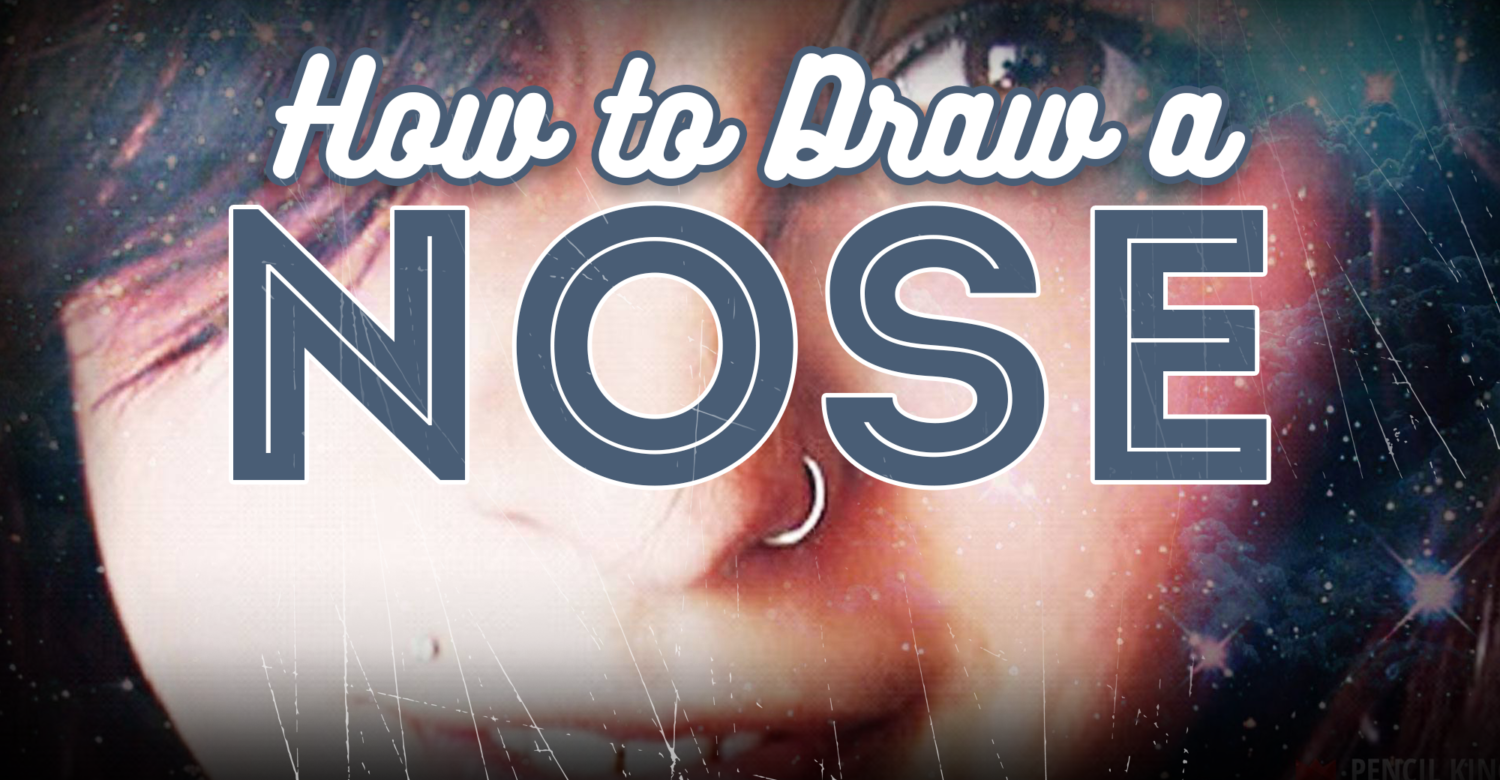 How To Draw The Nose