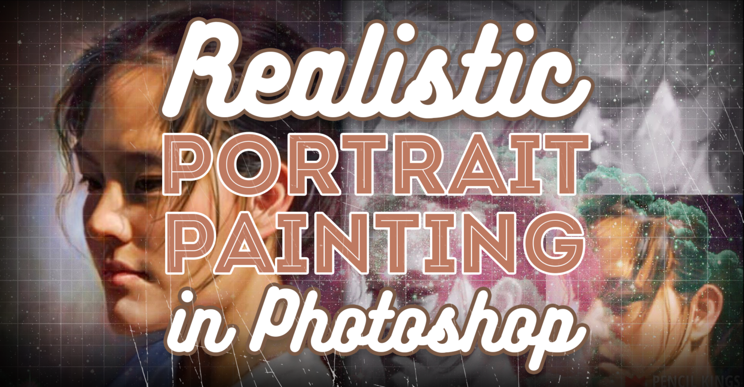 Realistic Portrait Painting in Photoshop