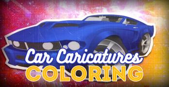 Car Caricature Art Pt2 – Coloring Techniques