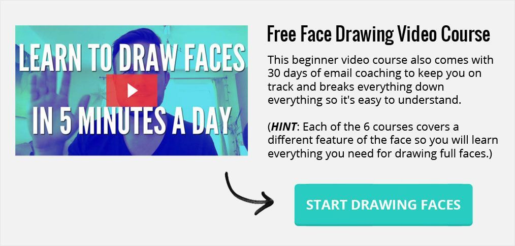 learn how to draw faces video course