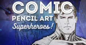 comic-pencil-art-superheroes