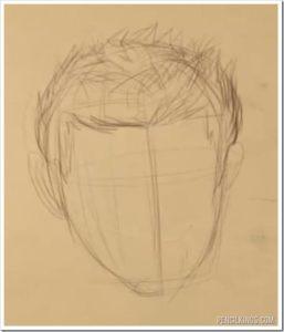 drawingflowinghair 3 drawingflowinghair
