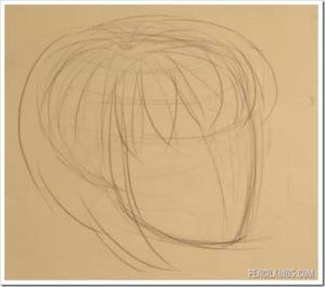 drawingflowinghair02 1 drawingflowinghair02