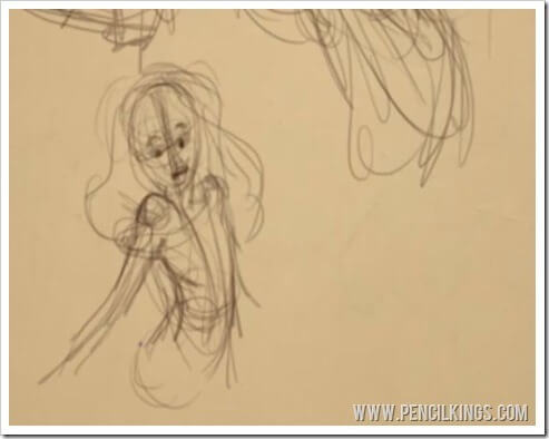 drawing poses from imagination thumbnail sketch