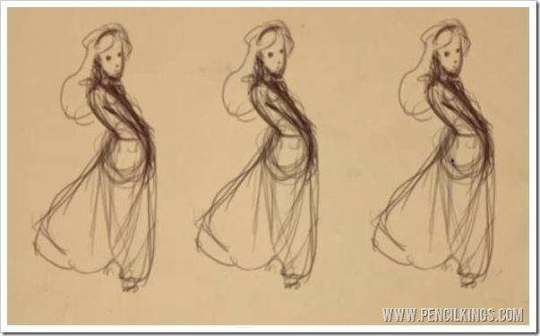 figure drawing poses duplicating thumbnails