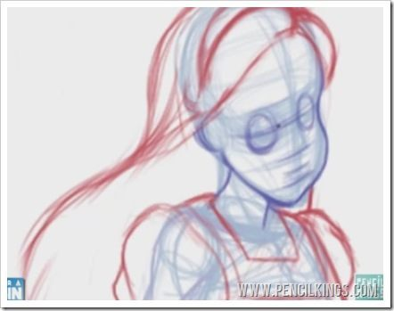 how to draw anime characters facial features