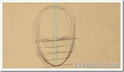 drawing faces facial features guide