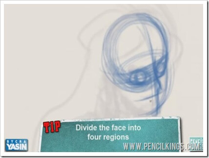 cartoon drawing tutorial face proportions