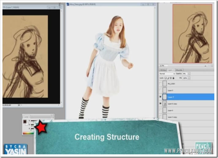 how to draw anime pose structure