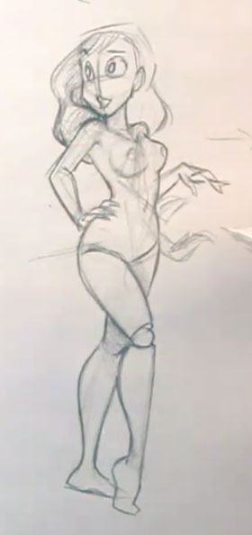 How To Draw Cartoon Female Characters The Fun Way