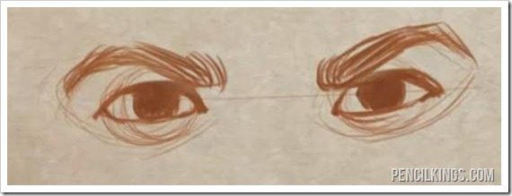 draw realistic eyes angry eyes drawing