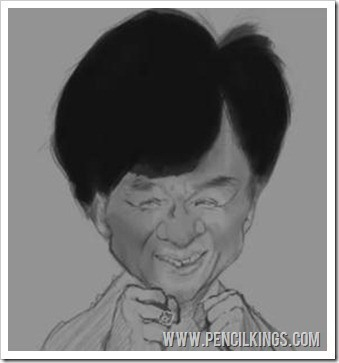 caricature drawings basic colors