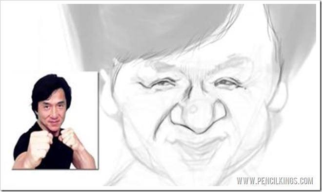 how to draw caricatures facial features