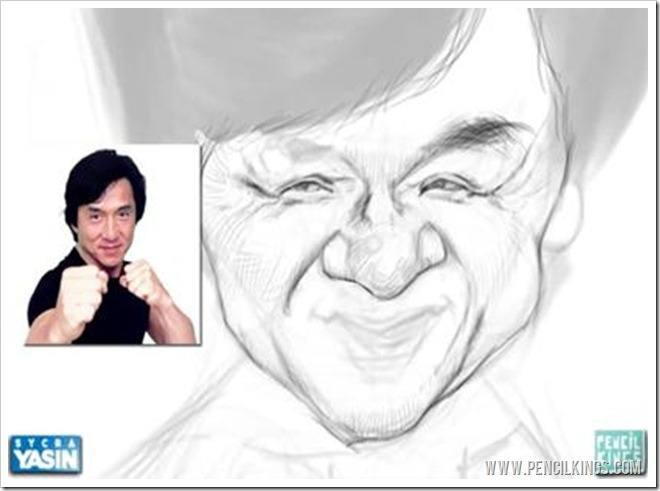 drawing caricatures facial details
