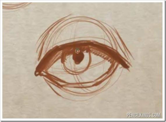 How to Draw an Eye And Create Perfect Eyelids and Eyelashes 3 drawingeyelidsfrontview