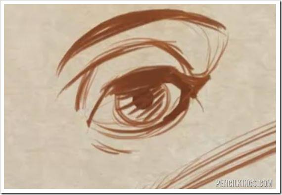drawing eyes tall eye shape