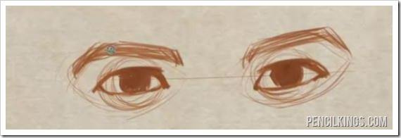 drawing eye expressions neutral expression sketch