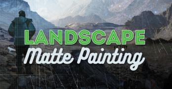 Landscape Concept Matte Painting
