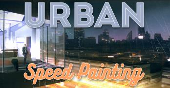 Speed Painting in Photoshop – Urban Scenes