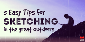 outdoor-sketching-tips 3 outdoor sketching tips