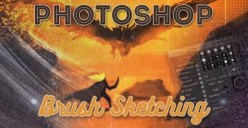 Brush Sketching in Photoshop