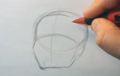 drawing hairlines for beginner artists