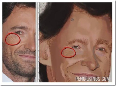 painting realistic eyes