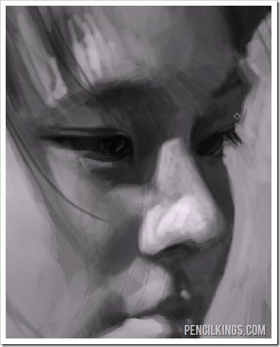 how to paint portraits photoshop brushes