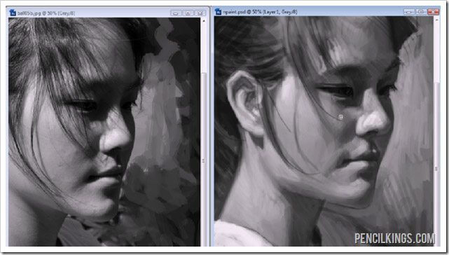painting portraits tutorial final paintinggggg