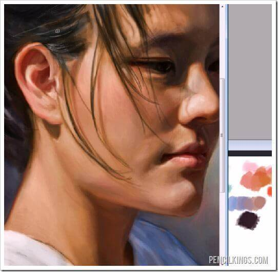 digital painting tips skin tones
