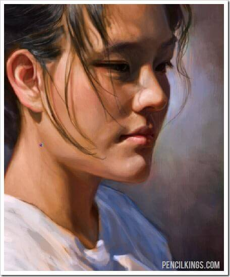 how to paint portraits skin tonal value