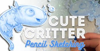 Cute Critter Pencil Sketching