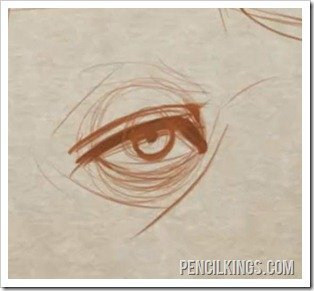 how to draw a basic eye