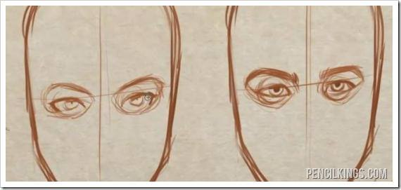 how to draw eyebrows finished eyebrow drawing