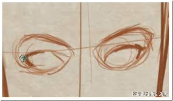 how to draw female eyebrows sketch