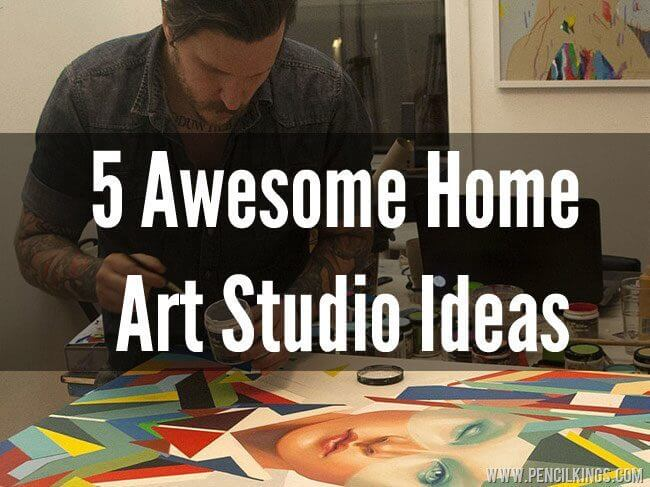 Create Your Space: 5 Awesome Ideas How to Make an Art Studio in Your Home 2 make an art studio1