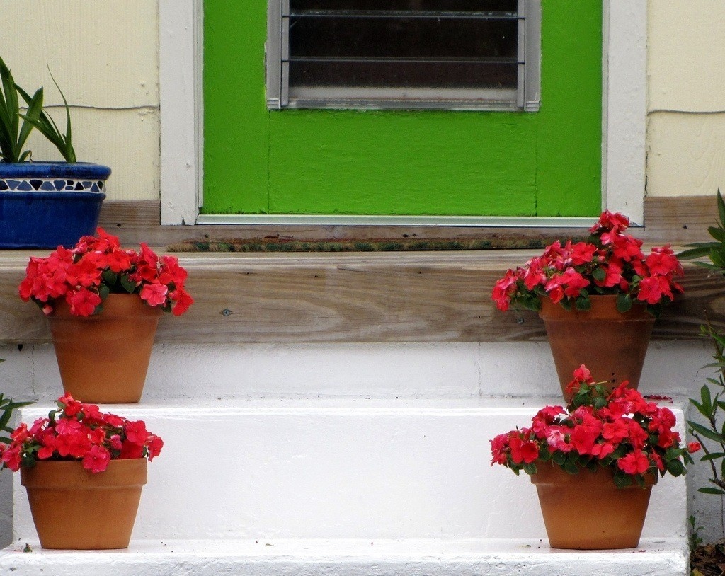symmetry-art-projects-flower-pots-by-door
