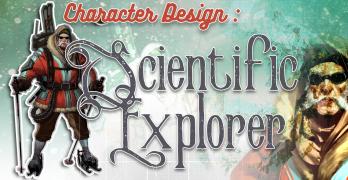 Scientific Explorer Character Concept Art