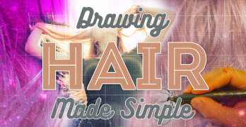 Drawing Hair Made Simple