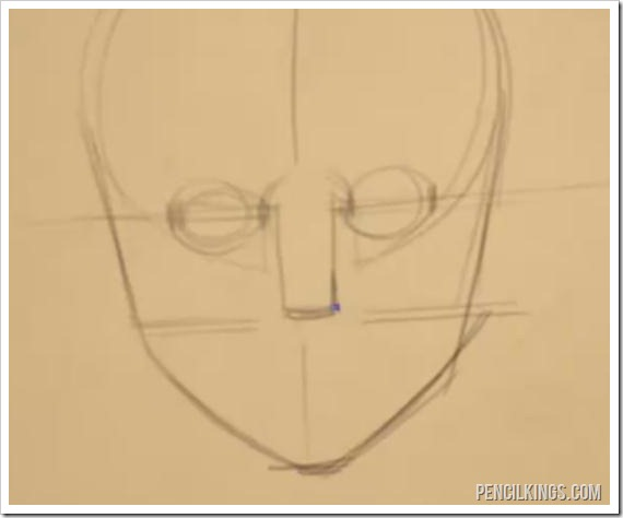 drawing noses female nose width