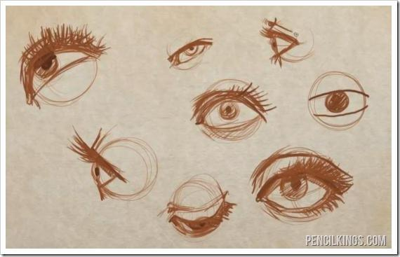 How To Draw An Eye And Master Eyelids And Eyelashes