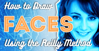 Drawing Faces using the Reilly Method