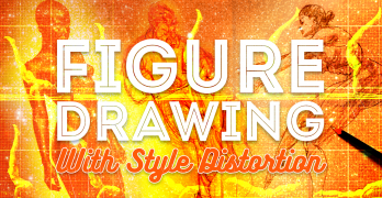 Figure Drawing With Style Distortion