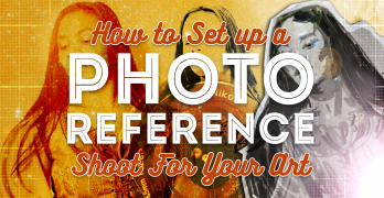 How to Set up a Photo Reference Shoot for Your Art
