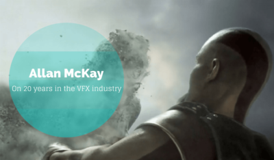 Allan McKay on his 20-year career as a visual effects artist
